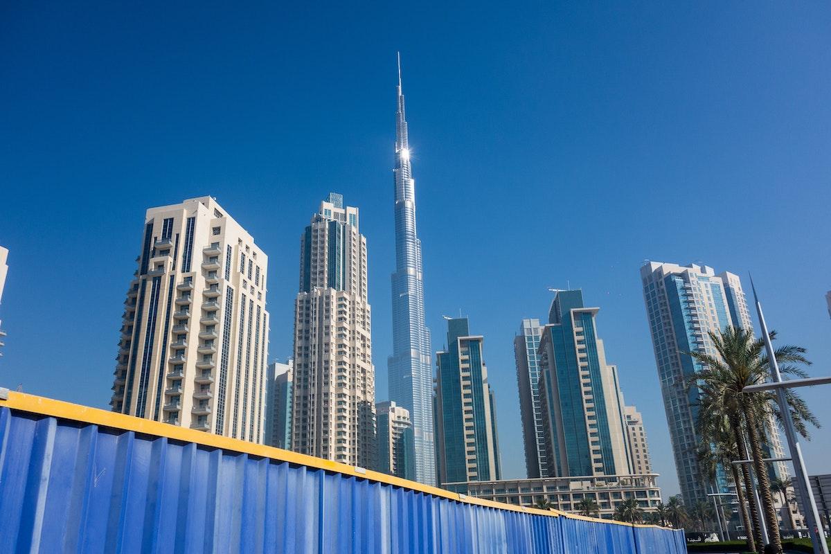 The Burj Khalifa in Dubai: the tallest of all