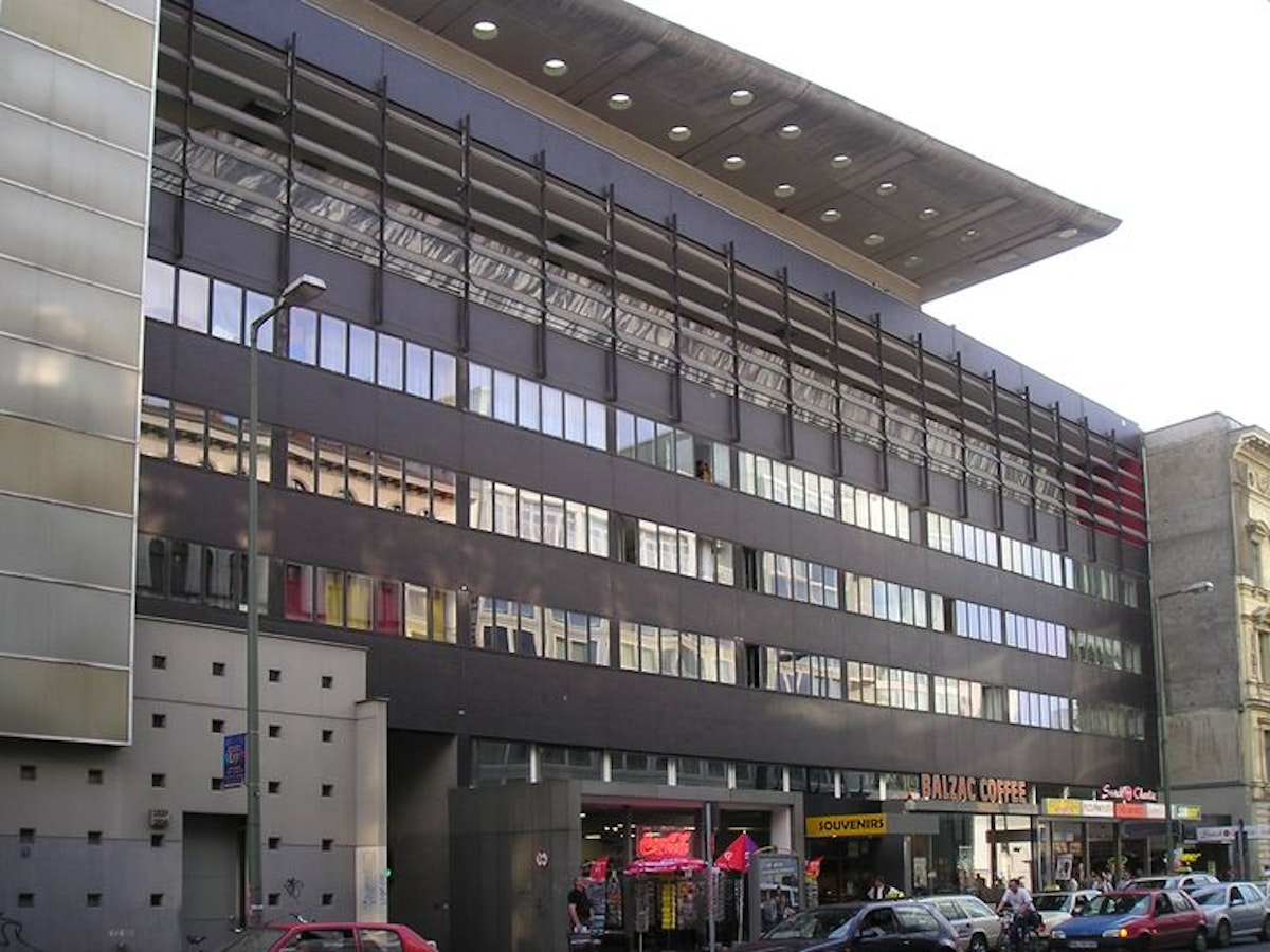OMA's building at Checkpoint Charlie
