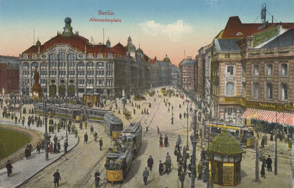 Alexanderplatz around 1900