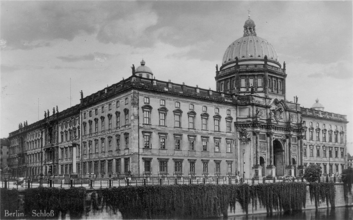 Berlin Palace in the 1920s