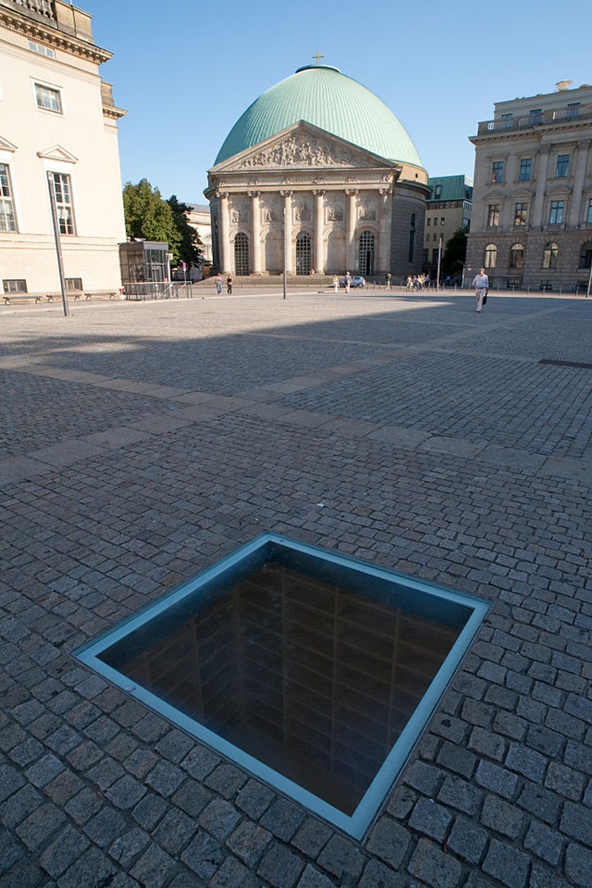Book Burning Memorial on Bebelplatz