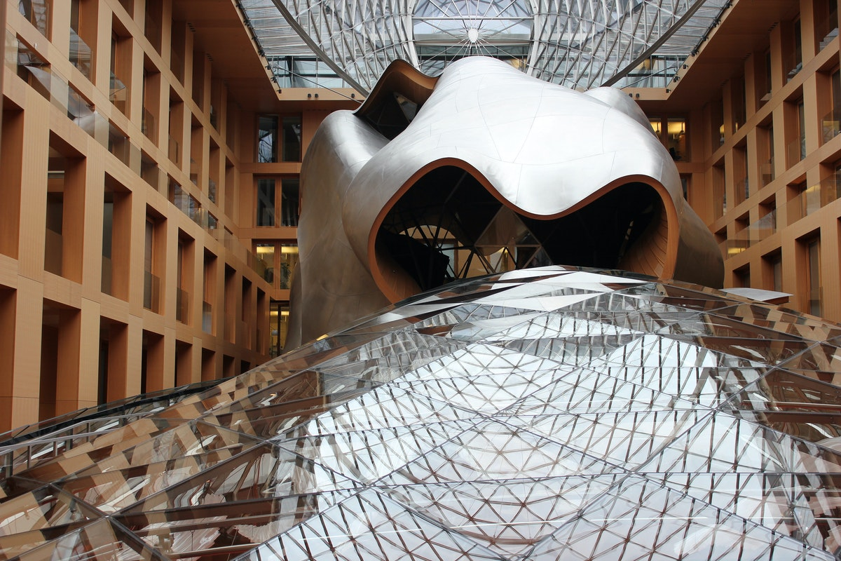 DZ Bank by Gehry