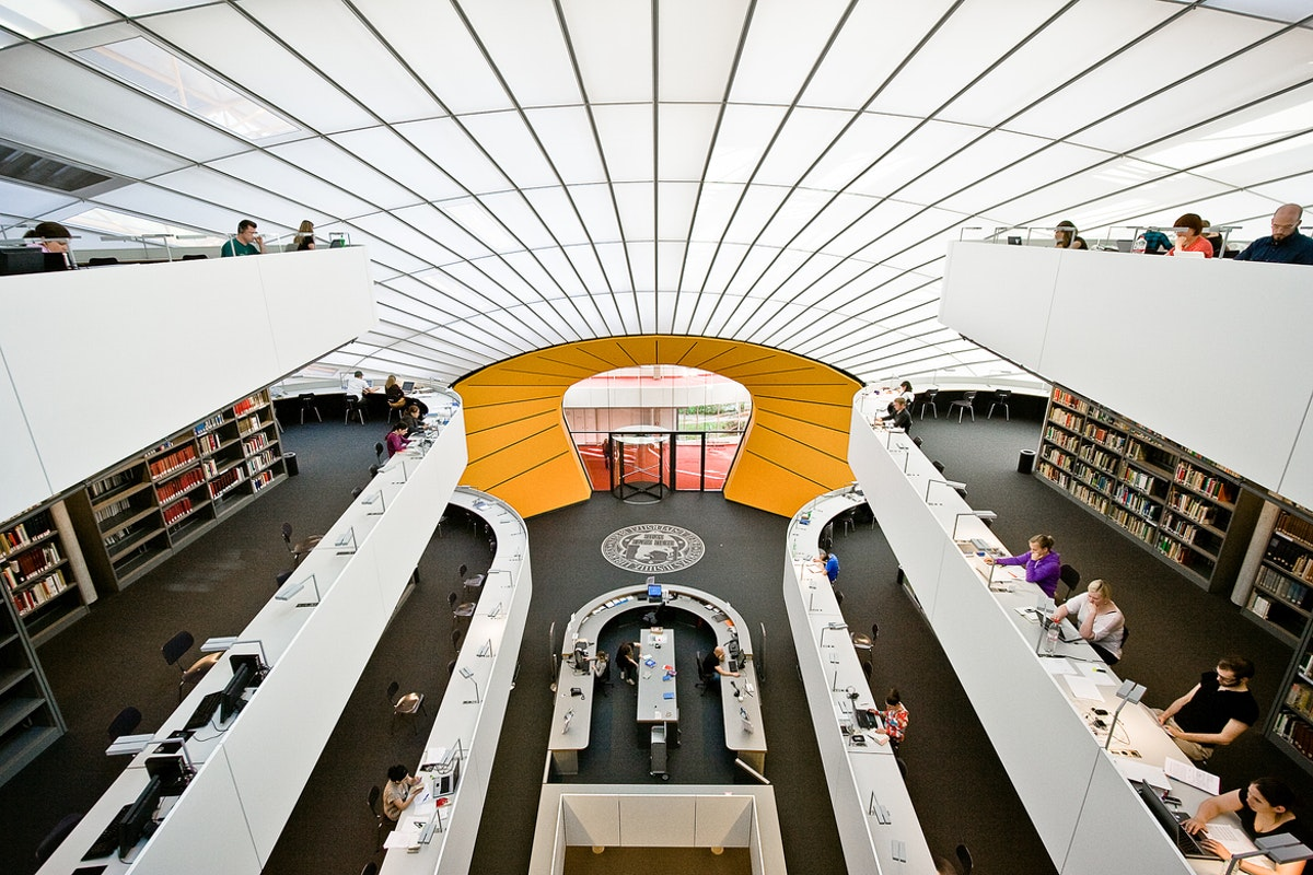 Philological Library by Foster+Partners