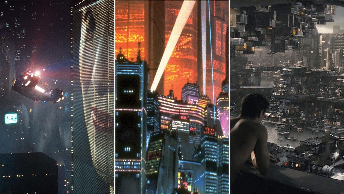 Blade Runne, Akira, Total Recall: bleak depictions of a dystopian future