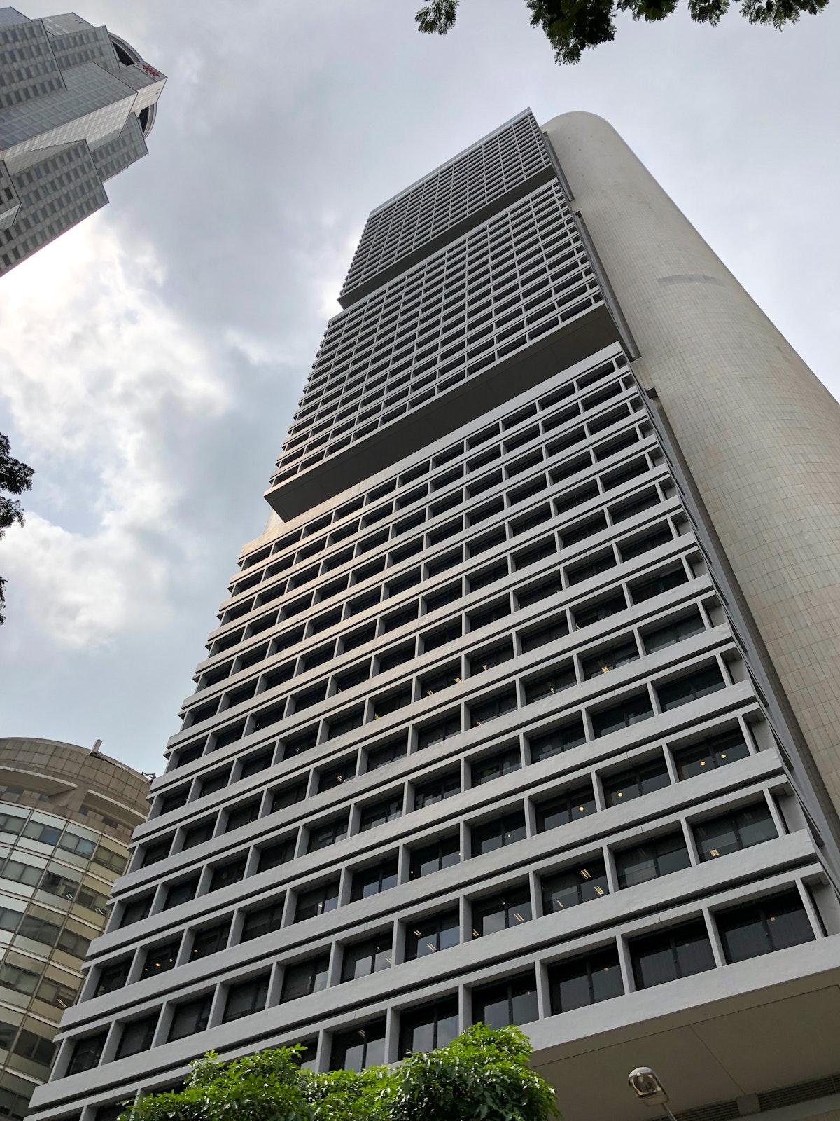 I.M. Pei's crazy OCB Building