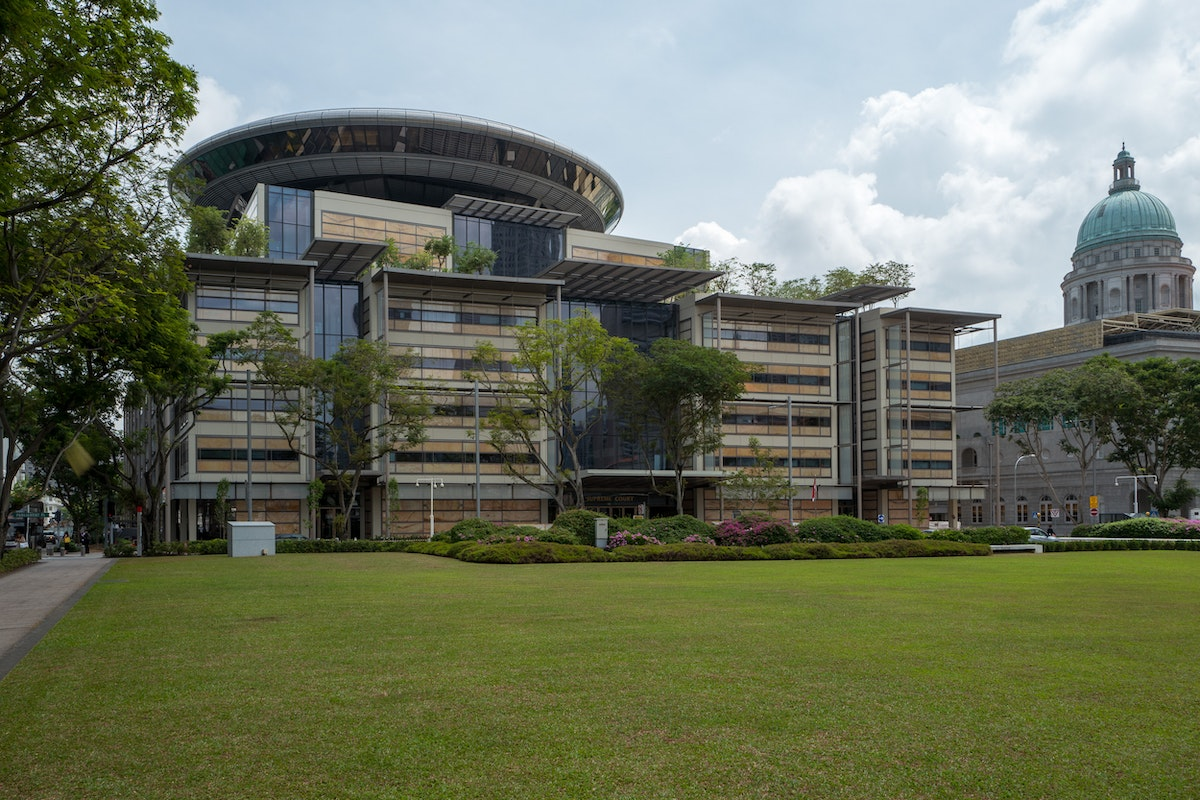 Foster+Partner's Supreme Court of Singapore