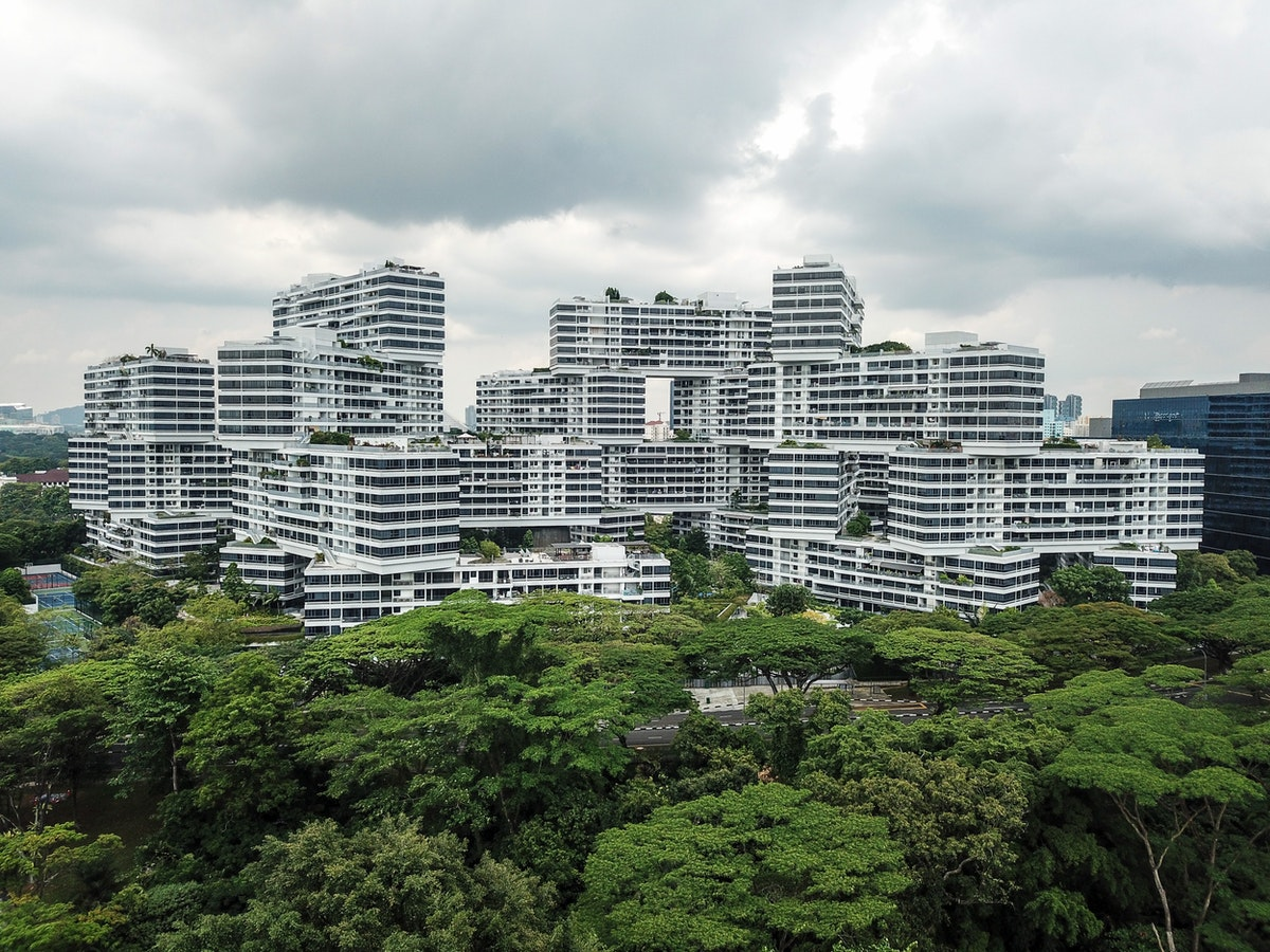 The Interlace from OMA in Singapore